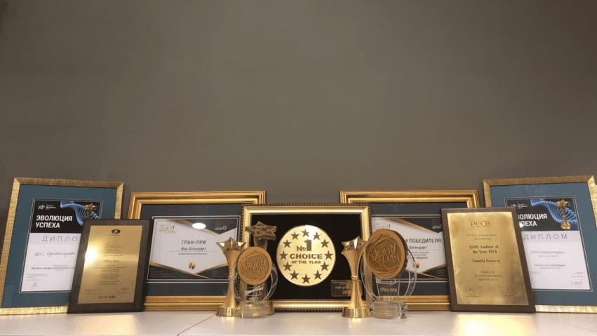 «Изи Штандарт» победитель в двух премиях: «Премия HR-бренд Беларусь 2018» и «Выбор года 2018»